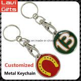 로고를 가진 주문 다채로운 금속 Keychain