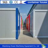 강철 구조물의 짜맞추는 Prefabricated 사무실 콘테이너 20 피트 호화스러운 가벼운 강철