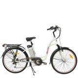 Châssis en alliage aluminium économique Electric City moto/vélo pour mesdames