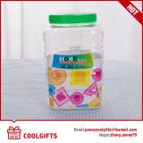 Alta calidad de plástico PET Candy Jar Jar de cosméticos, alimentos