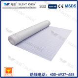 tapis imperméable à l'eau d'assise de mousse du blanc EPE de 2mm pour le plancher en stratifié