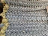 직류 전기를 통한 PVC 입히는 철망사 체인 연결 담