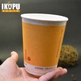 Neuer Papierschaumgummi-Kaffee-Papiercup 8-20oz