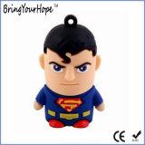 Disque de flash USB de type de héros superbe (XH-USB-107)