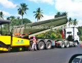 商品の輸送のための半ダンプのトレーラーの機械中断