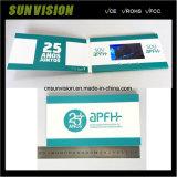 A medida de promoción 4.3 pulgadas LCD invitación Tarjetas de vídeo