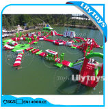 Aufblasbarer Wasser-Park, sich hin- und herbewegender Aqua-Park für Erwachsenen auf Verkauf mit 0.9mm Belüftung-Material