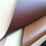 0.7Mm нетканого материала назад PU кожа для обуви подкладка Hx-L1703