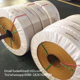 Cortar a correia de transmissão da borda