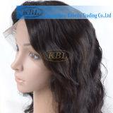 Pelucas trenzadas de la peluca frontal brasileña del cordón de la densidad del 150% para las mujeres negras