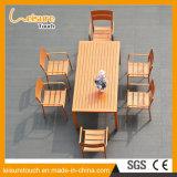 Muchos de soporte gente emplea el exterior Mobiliario zona de fuentes termales aleación de aluminio de mesa y una silla