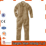 Coton d'usine/combinaison kaki personnalisés de travail sergé de polyester