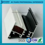 Perfil anodizado protuberancia de aluminio de la venta directa de la fábrica para la puerta de la ventana