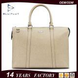 حقيبة مصنع عالة علامة تجاريّة جلد محفظة عمل سفر [شوولدر بغ]