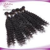 cheveux humains de Remy de la Vierge 8A de cheveu d'onde profonde malaisienne d'enroulement