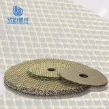 Venta caliente que reacaba el disco abrasivo profesional de la fibra de vidrio