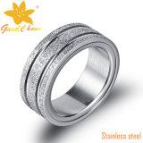 Exsr66bの方法指の宝石類の金の指輪は指の黒を回す