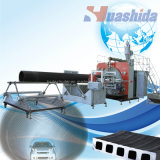 Chaîne de production en plastique de pipe de HDPE ligne d'extrusion de pipe de faisceau de silicium
