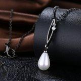 Collar de la perla del diseño de Hotsale del collar del Zircon y de la perla nuevo