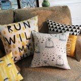 Almofadas de espuma de PE 18X18 polegadas impressas para o sofá