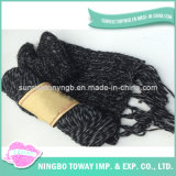 Lenço morno do Crochet do algodão do poliéster do desenhador da alta qualidade