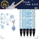 かわいい日本製アニメの漫画によって印刷されるギターのアクセサリのギターストラップ