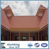 Tuiles de métal céramique d'obligation de toiture pour le matériau de construction