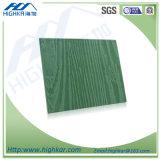 Деревянная доска украшения цемента волокна текстуры зерна