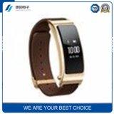 Braccialetto astuto di Bluetooth del braccialetto della fabbrica della prova di frequenza cardiaca di pressione sanguigna di sonno del video di punto diretto su ordinazione astuto del movimento
