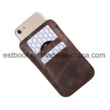 Telefone móvel Ccase do malote de couro para o iPhone 7