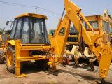Jcb usato 3cx con il caricatore dell'escavatore a cucchiaia rovescia del martello del Jack (interruttore dell'escavatore a cucchiaia rovescia del JCB 3CX)