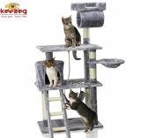 Sisal Cat Scratcher Tree & Cat Toys (KG0043)