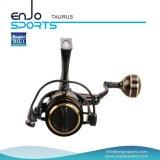 Bobine de pêche en bobines de bobines à moulage en aluminium pleine métal (SFS-TS350)