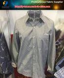 2017ワイシャツまたはビジネスワイシャツのための新しいT/Cの縞のShirtingファブリック、明白なヤーンによって染められるファブリック
