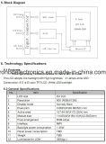 """écran de TFT LCD de 8.0 """" 800X1280 Mipi, Hx8394, 39pin, pour la position, sonnette, médicale"""