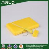 20ml de cartão de crédito em forma de perfumadores de perfume Uso de um hotel de plástico de desodorização amarela de perfume atomizadores