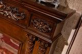 MDFの彫刻のホテルの家具のヨーロッパ式の電気暖炉(320S)
