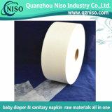 Tela não tecida hidrófila de Spunbond para tecidos do bebê e o tecido adulto