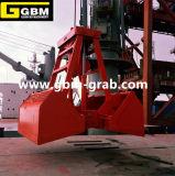Hidráulica Clamshell Buque de carga a granel de control remoto Grab