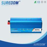 Инвертор AC DC инвертора солнечной силы инвертора волны синуса полной мощи 12V 220V 600W пиковый 1200W 50Hz чисто