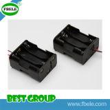 batteria 9V con la batteria impermeabile della cassetta portabatterie dell'interruttore 3AA