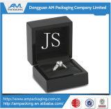 A prata feita sob encomenda de empacotamento da caixa do presente do ano novo 925 caixas de jóia imprimiu o logotipo