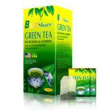 最もよい分け前の減量および緑茶を細くすること