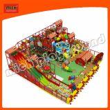 Bauernhof-themenorientierter rote Farben-Innenspielplatz