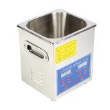 pulitore ultrasonico di Digitahi dell'acciaio inossidabile di 2L 50W con il temporizzatore ed il riscaldatore