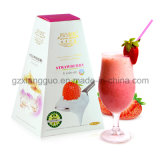 Saveur de fraise amincissant le lait de poule