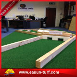 Jardim ao ar livre Usado 35mm Height, V Shield Grass Grass Synthetic Turf