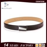 Пользовательские моды подлинной Cowhide плечевой лямки ремня безопасности с храповым механизмом ремень из натуральной кожи для мужчин