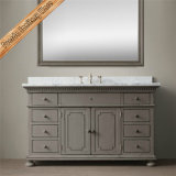 Vanità di legno del bagno del Governo del bagno di vanità della stanza da bagno di legno solido di Fed-1668A
