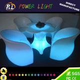 Tabella di plastica di modellatura di rotazione del fiore della prugna della barra della mobilia del LED